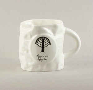 Happy Tree. Crumpled Tea Mug