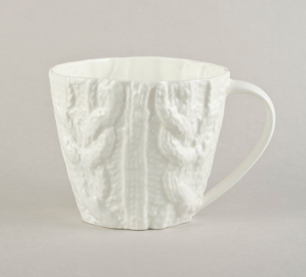 Porcelain Knitted Tea Co Mug