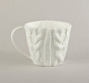 Porcelain Knitted Coffee Co Mug