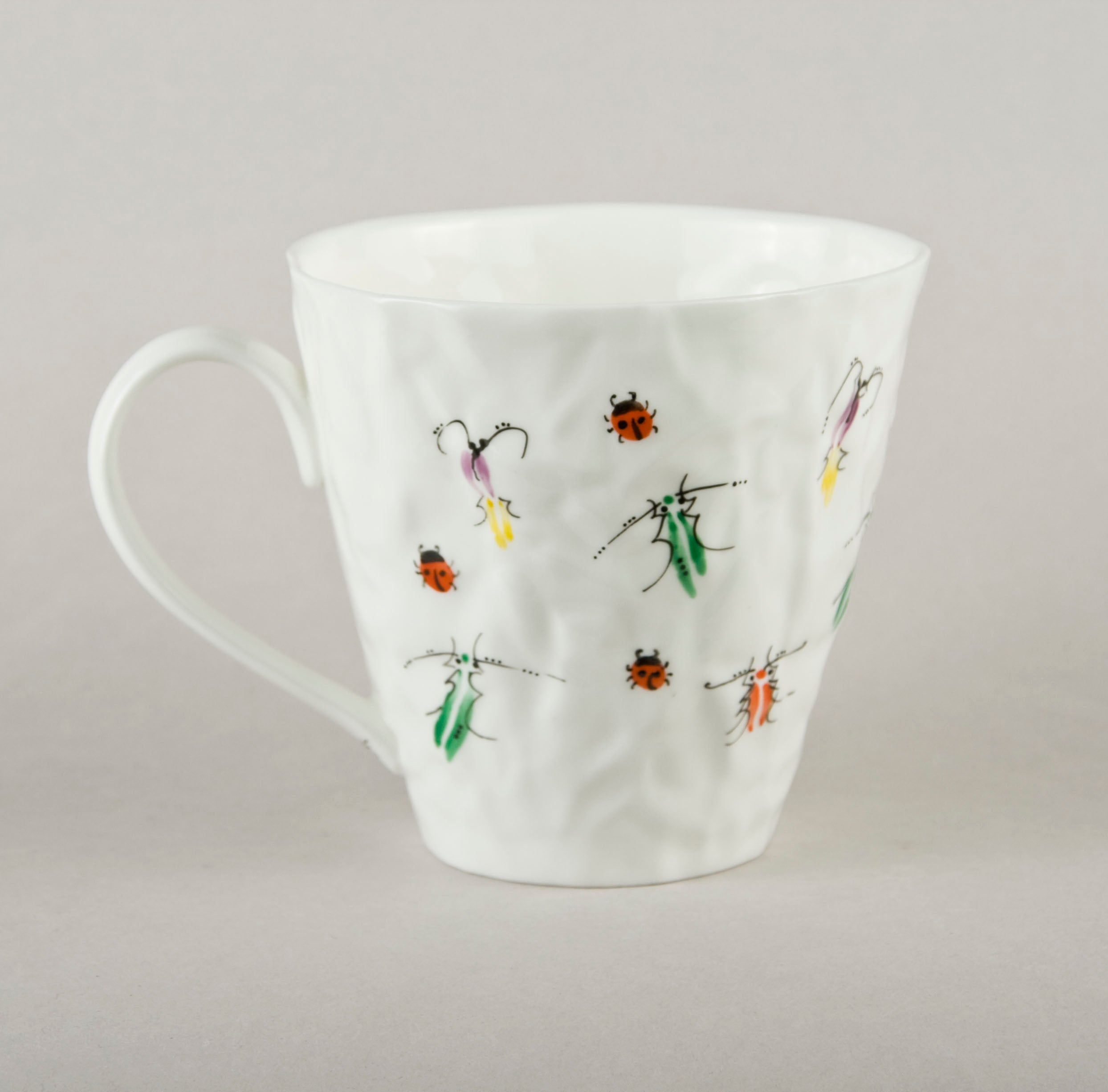Beetle 3.8. Crumpled Tea Co Mug