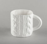 Porcelain Knitted Tea Mug