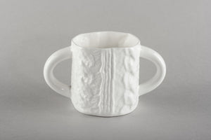 Porcelain Knitted Sugar Mug