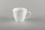 Porcelain Crumpled Coffee Co Mug