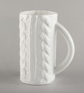 Porcelain Knitted Beer Mug