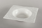 Porcelain Crumpled Soup Plate