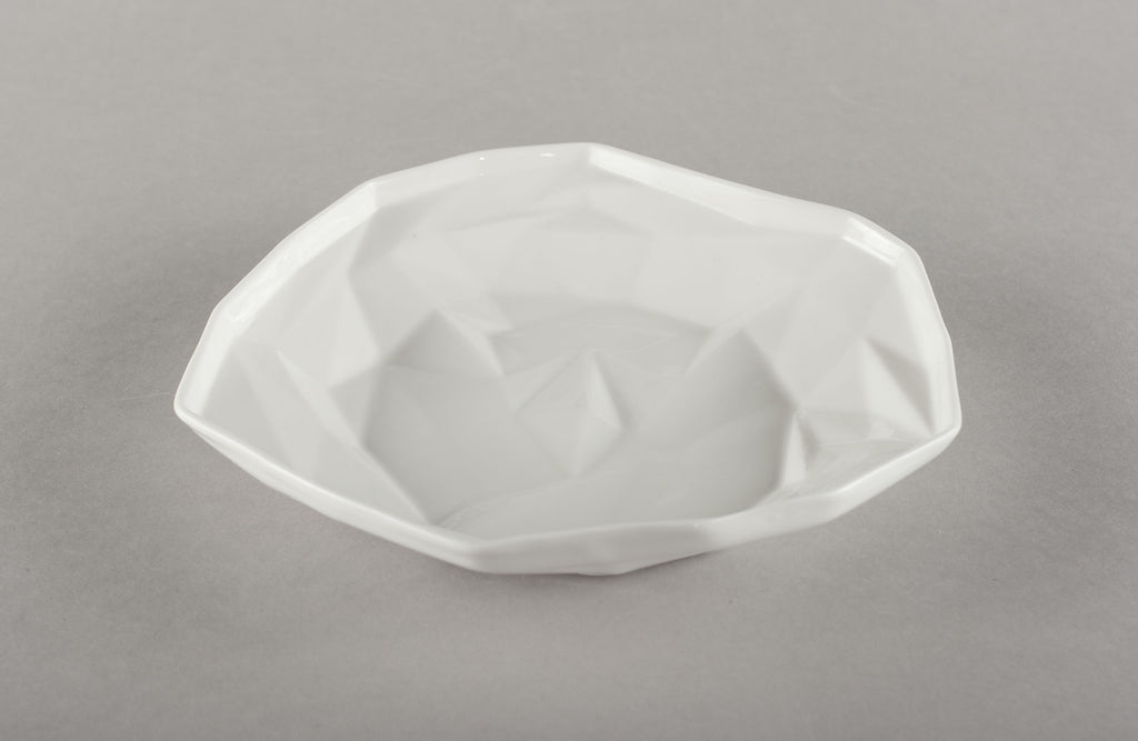Porcelain Diamond Bowl