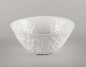 Porcelain Crumpled Bowl M