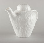 Porcelain Crumpled Kettle L