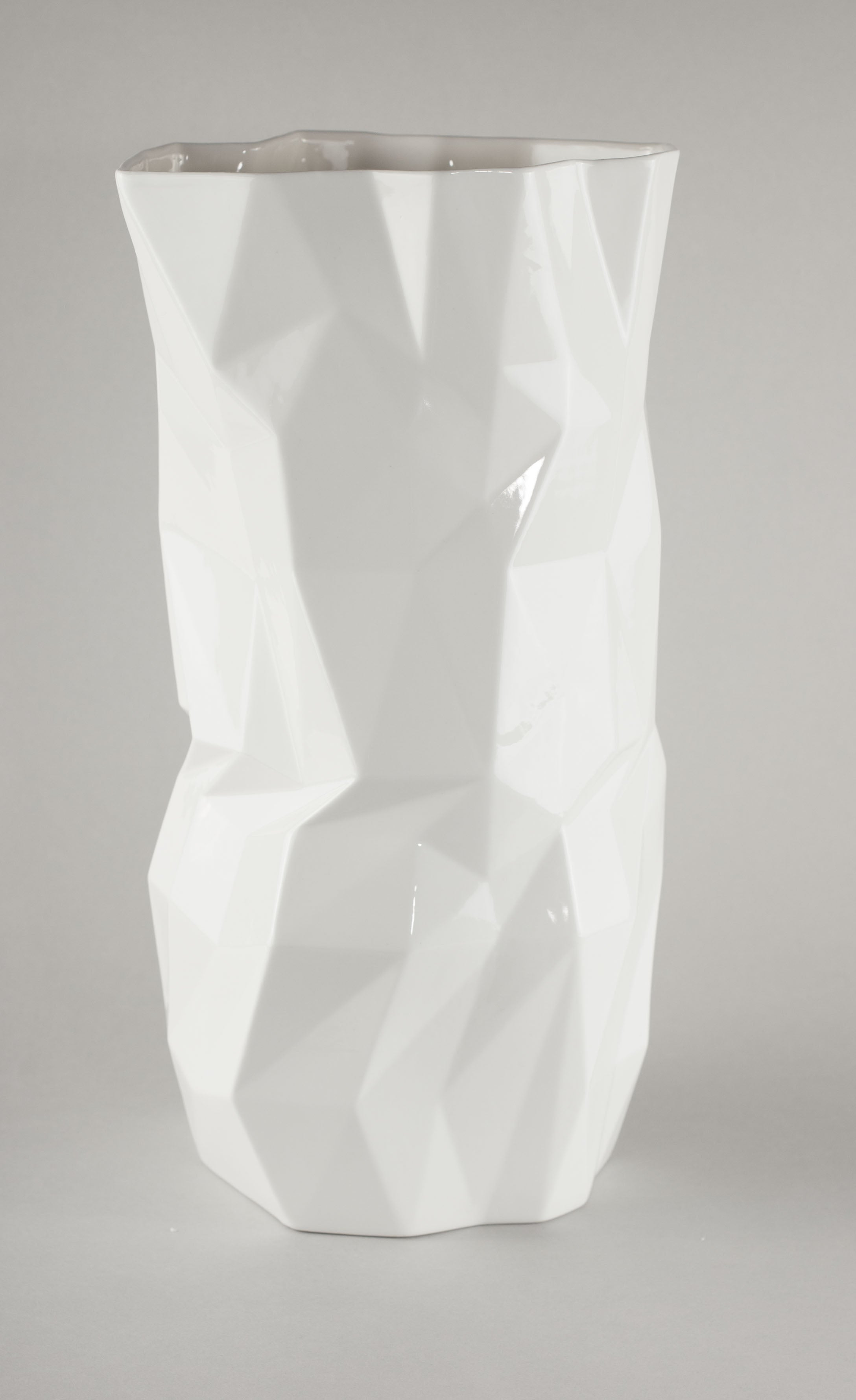 Porcelain Diamond Vase