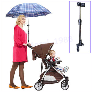 Wheelchair Bicycle Pram Swivel Umbrella Connector
