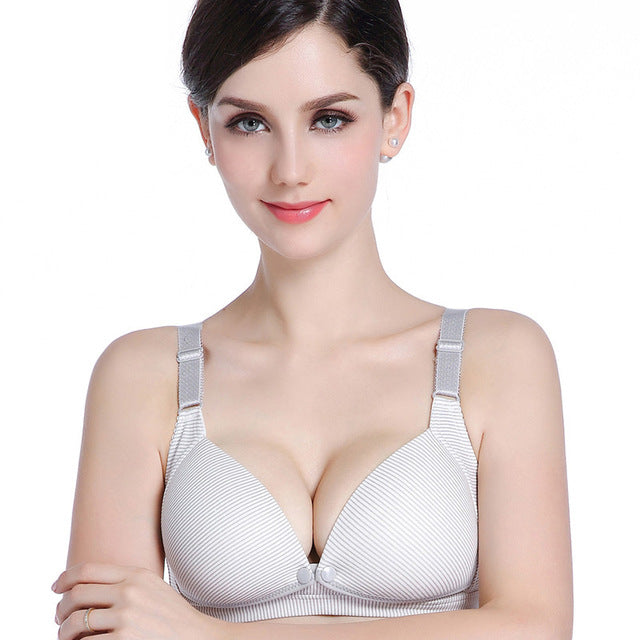 Cotton Breastfeeding Maternity Bra