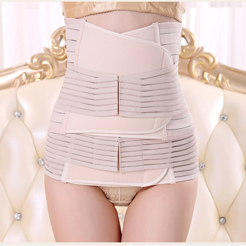 Women Maternity 3Pieces Set Maternity Postnatal Belt
