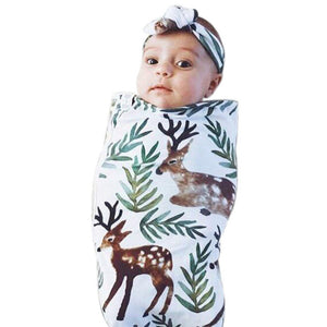 Newborn Infant Baby Swaddle Blanket