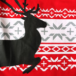 Hot Printed Red Deer Print