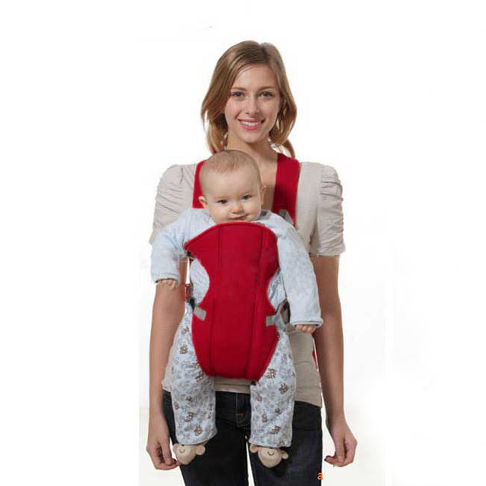 Red Front Facing Baby Carrier Sling
