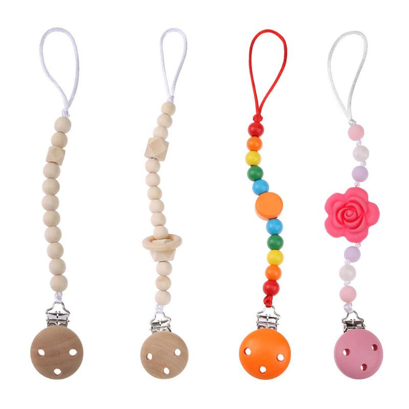 Infants Baby Pacifier Chain Holder