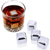 stainless steel ice cubes image
