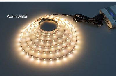 USB Cable Power LED strip light lamp
