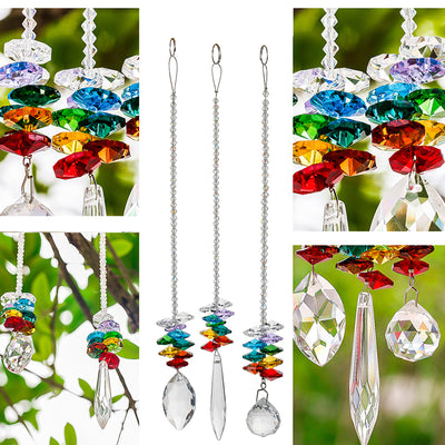 Crystal Ball Hanging Suncatchers