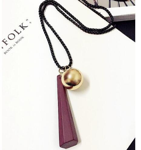 Long crystal Necklace for Women