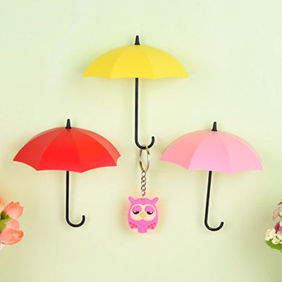 Umbrella shaped creative holders