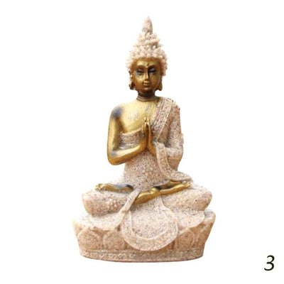 Meditation Buddha Statue Sculptures Home Decor