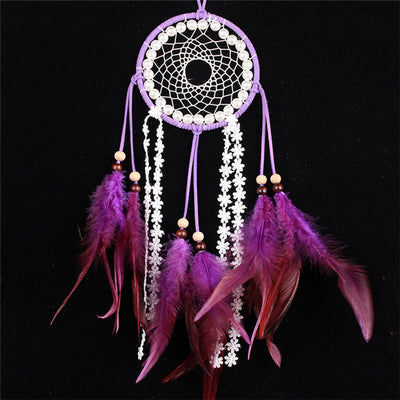 Native Styles Handmade Dream Catcher With Feathers