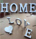 Wooden English Letters Wall Stickers