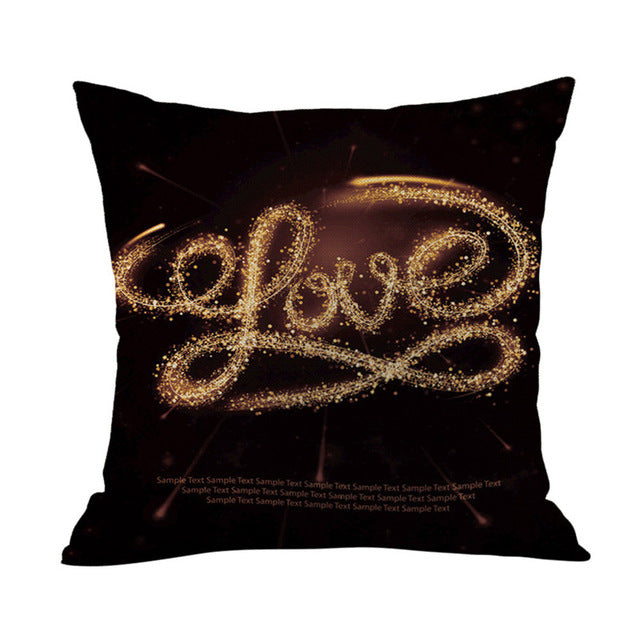 Love Pattern™ Printed Pillowcase Valentine's gift