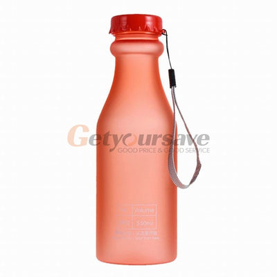 Latest and Trending Unbreakable Frosted Leak-proof Plastic 550 ml BPA Free Portable Best Water Bottles