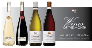 Wines of the Month - January 2020