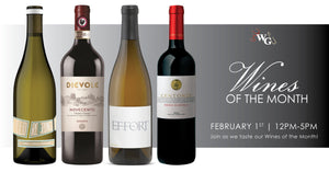 Wines of the Month - February 2020