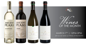 Wines of the Month - March 2020