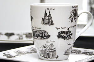 EXCLUSIVE | Dishware with Roanoke Landmarks