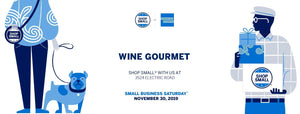 Small Business Saturday at Wine Gourmet