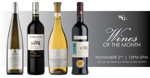 Wines of the Month - November 2019