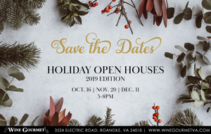 Holiday Open House Tasting Lineup & Discounts - October 16th, 2019 | 5-8pm