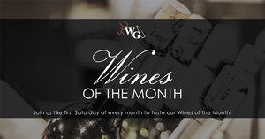 Wines of the Month - August 2019