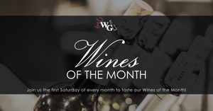 Wines of the Month - July 2019