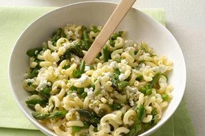 Pasta Salad with Feta and Pickled Asparagus