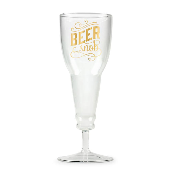 Beer Snob Glass Beer Glass