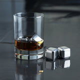 Glacier Rocks Small Stainless Steel Cubes