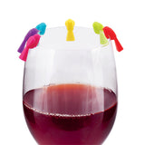Chickadee™: Silicone Wine Charms