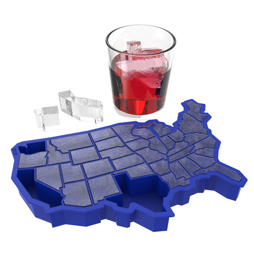 U Ice of A™ Ice Blue Silicone Cube Tray