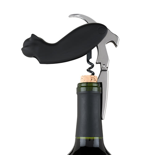 Allie™ Cat Double-hinged Corkscrew