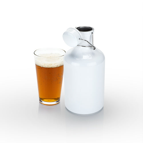 Admiral™ High Gloss White Growler by Viski