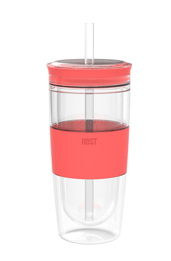 FREEZE™ Cooling Cup in Coral by HOST®