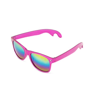 Pink Bottle Opener Sunglasses by Blush