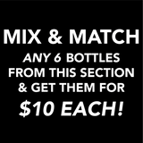 6 for $60 Mix & Match Wine Box