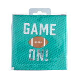 """Game On"" Appetizer Napkin"